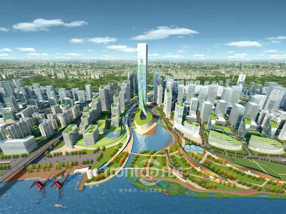 广州国际金融城 金融城