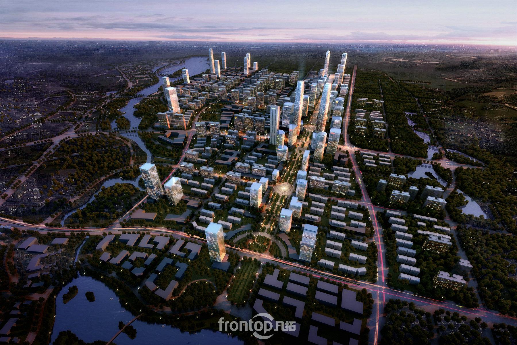 厦门建发翔安新城规划