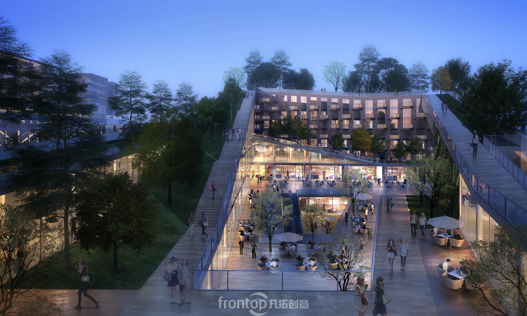 赖德市民中心国际概念设计竞赛